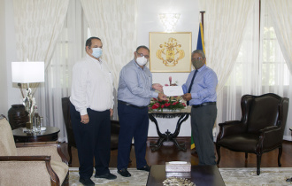 Land Marine Limited donates to the COVID-19 Relief Fund