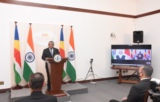 E-Ceremony of Handing over and Inauguration of Projects Funded by the Government of India