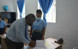 President Ramkalawan visits the new Deaf Centre